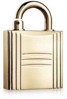 HERMES Pure Perfume Refillable Lock Spray Gold Tone/0.25 oz.