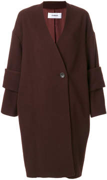 Chalayan double cuff detail coat