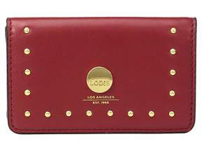 Lodis Pismo Stud RFID Mini Card Case Wallet