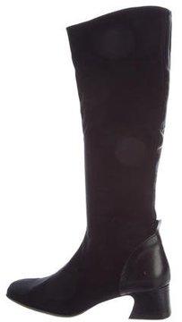 Donald J Pliner Square-Toe Knee-High Boots