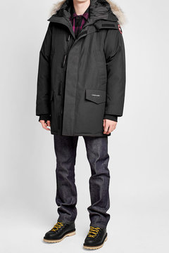Canada Goose Langford Down Parka with Fur-Trimmed Hood