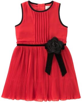 Kate Spade Pleated Chiffon Dress