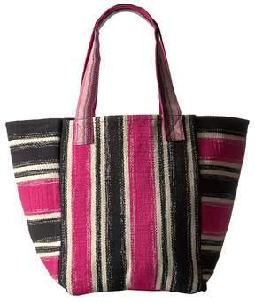Rebecca Minkoff Serra Tote Tote Handbags - GREEN MULTI - STYLE