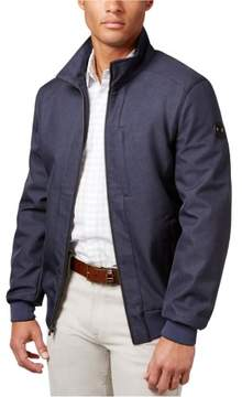 Michael Kors Stand Collar Jacket Blue 2XLT - Big & Tall