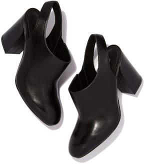 Michael Kors Clancy Slingback Heel in Black, Size 36