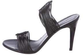 Jenni Kayne Leather Slide Sandals