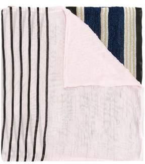 Missoni colour block striped scarf