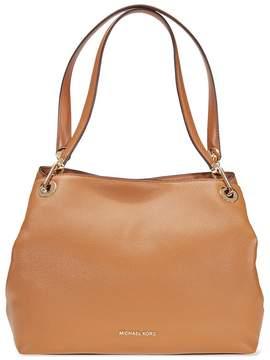 Michael Kors Raven Large Leather Shoulder Bag - Acorn - ONE COLOR - STYLE