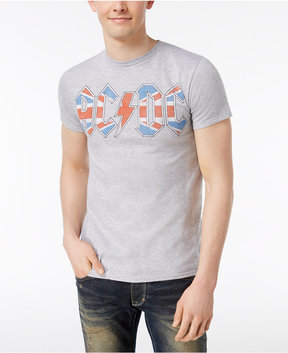 Bioworld Acdc Union Flag Graphic T-Shirt