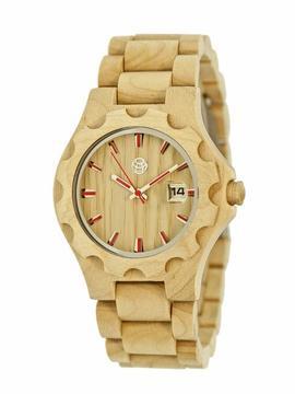 Earth Gila Collection ETHEW3301 Unisex Wood Watch with Wood Bracelet-Style Band