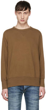 Levi's Clothing Tan Bay Meadows Sweatshirt