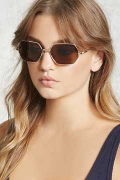 FOREVER 21 Hexagon Sunglasses