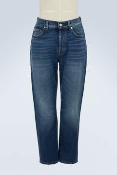 7 For All Mankind Josefina high-waisted cropped jeans