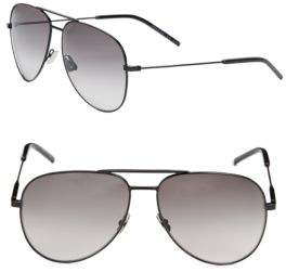 Saint Laurent Sun Shiny 14MM, Aviator Sunglasses