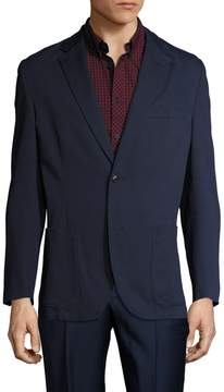 Kroon Men's Bono 2 Cotton Notch Lapel Blazer