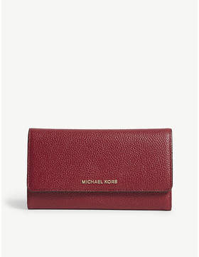 MICHAEL Michael Kors Money Pieces grained leather trifold wallet
