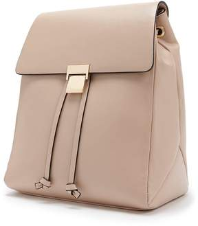 Forever 21 Faux Leather Drawstring Backpack