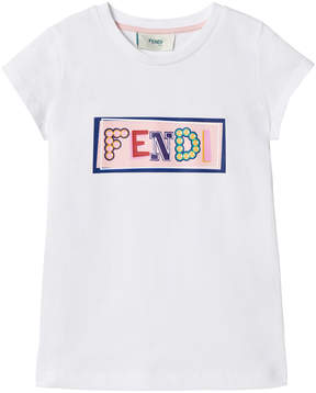 Fendi White Box Branded Tee