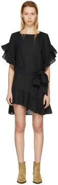 Etoile Isabel Marant Black Delicia Dress