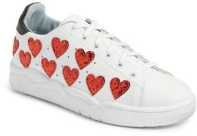 Chiara Ferragni Women's Hearts Roger Sneaker