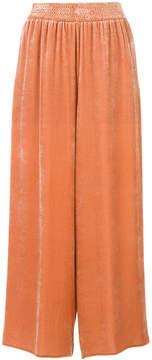 Cédric Charlier wide leg cropped pants