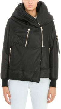Bacon Big Bomber 62 Black Puffer Coat