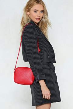 Nasty Gal WANT Are We Square Vegan Leather Bag