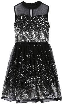 Speechless Girls 7-16 & Plus Size Sequin Illusion Dress