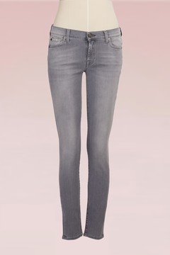 7 For All Mankind Cotton Skinny Jeans