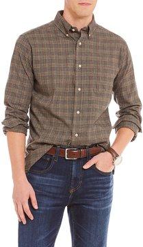 Daniel Cremieux Glen Plaid Twill Long-Sleeve Woven Shirt