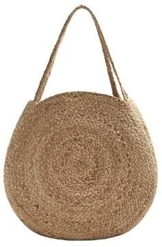 MANGO Jute shopper bag