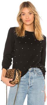 Black Orchid Embellished Sweatshirt