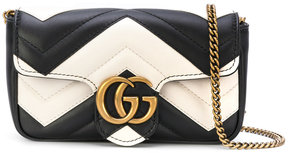 Gucci GG Marmot Matelassé super mini bag - BLACK - STYLE