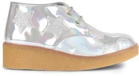 Stella McCartney Mini Me star-printed derbies with platform heels