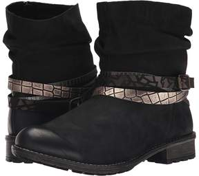 Rieker R3354 Women's Zip Boots
