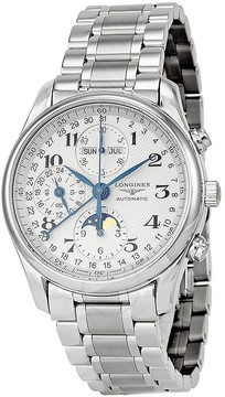 Longines Master Collection Chronograph Silver Dial Stainless Steel Men's Watch L26734786