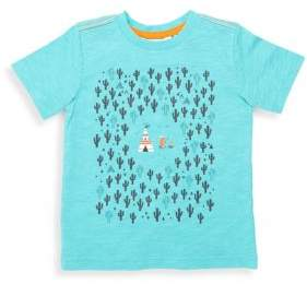 Petit Lem Little Boy's Printed Crewneck Tee