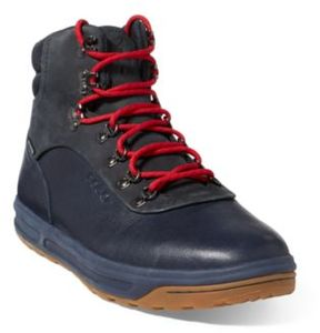 Ralph Lauren Alpine 100 Leather Sneaker Newport Navy/Dark Navy 10