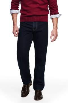 Lands' End Lands'end Men's Big Ring Spun Comfort Waist Jeans