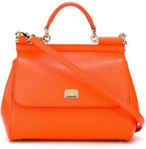 Dolce & Gabbana medium Sicily shoulder bag - YELLOW & ORANGE - STYLE