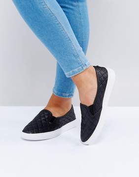 Head Over Heels by Dune Quilted Sneakers