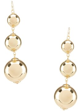 Anna & Ava Dorinda Triple Ball Statement Drop Earrings