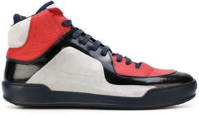 Maison Margiela lace-up hi-top sneakers