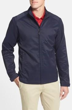 Cutter & Buck Men's Big & Tall Blakely Weathertec Wind & Water Resistant Full Zip Jacket