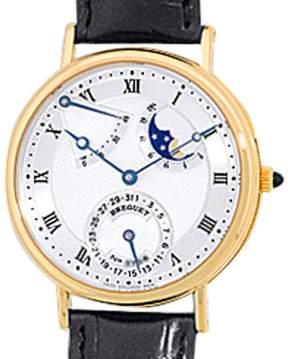 Breguet Classique Power Reserve 18K Yellow Gold Strap Watch