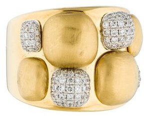 Chimento 18K Diamond Dune Ring