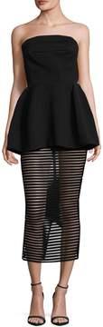 Aq/Aq Women's Ribbed Mini Dress