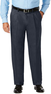 Haggar Jm Dress Pant Classic Fit Pleated Pants Big and Tall