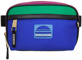 Marc Jacobs Pink and Blue Sport Belt Bag