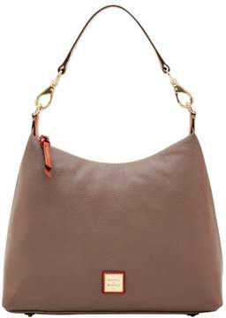 Dooney & Bourke Pebble Grain Juliette Hobo Shoulder Bag - ELEPHANT - STYLE